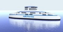 Artist's rendering of the new B.C. Ferries intermediate-class vessel. Credit: B.C. Ferries - See more at: http://www.timescolonist.com/news/
