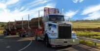 Westernport Innovations' LNG powered truck.