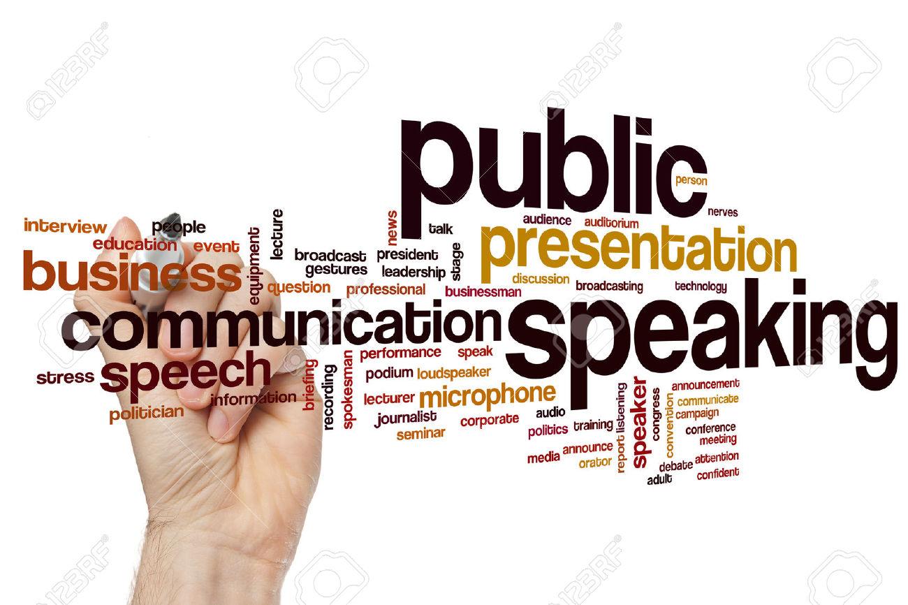 essay public speaking class